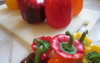 Peperoni ripieni di ricotta, carne e chorizo: foto e ricetta