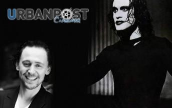 Tom Hiddleston da dio Loki a Non Morto Eric Draven ne Il Corvo