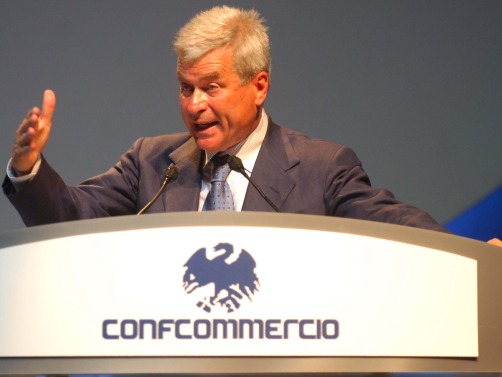 Carlo Sangalli Confcommercio