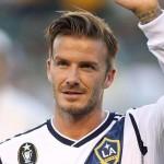 David Beckham papà