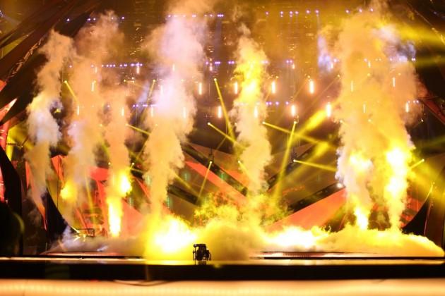 Eurovision 2013 Palco in azione