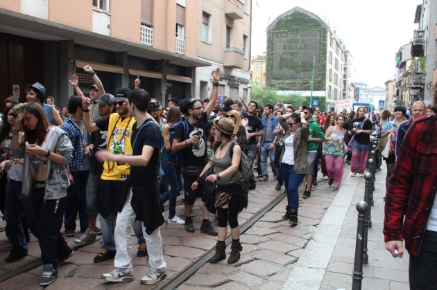 Corteo Mayday Milano 2013
