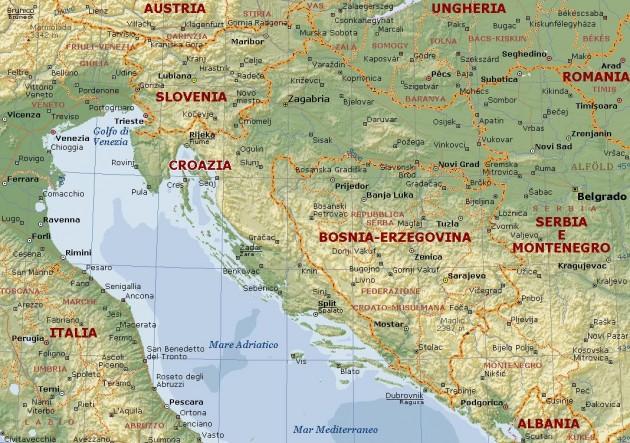 Dalmazia Cartina Geografica.Vacanze Low Cost Agosto 2013 Croazia Dove Andare Urbanpost