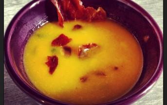 Zuppa di zucca e asparagi ricetta con foto