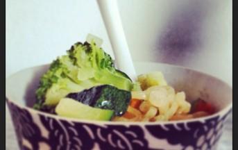 Noodles verdure e pollo ricetta con foto