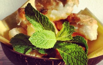 Zeppole salate alla menta ricetta con foto