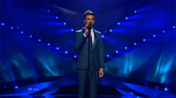 Mengoni-Eurovision Song Contest 2013