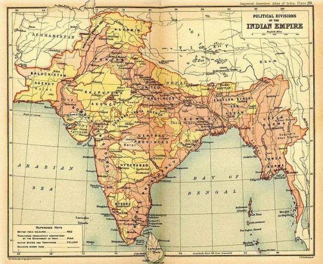 mappa indie