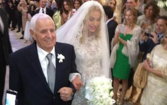 Matrimonio Valeria Marini: la bestemmia in diretta tv