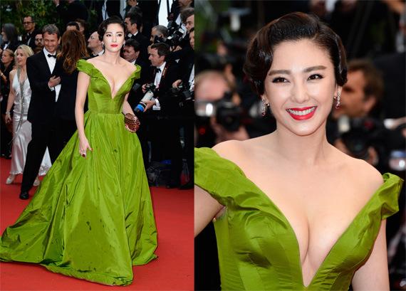 zhan yuqi red carpet