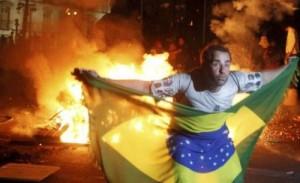 scontri in Brasile