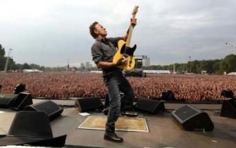 Un monumentale Bruce Springsteen in concerto a Milano, lunedì 3 giugno 2013