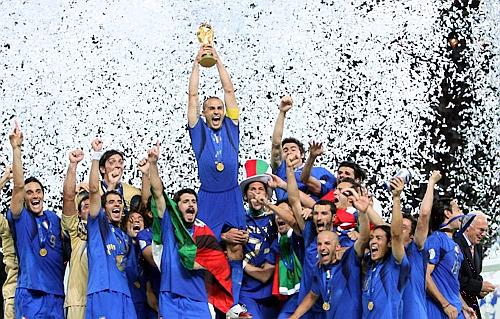 Germania campione del mondo si rompe la coppa