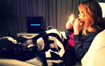 Rihanna segnali di fumo…da Amsterdam e i genitori temono la bad girl