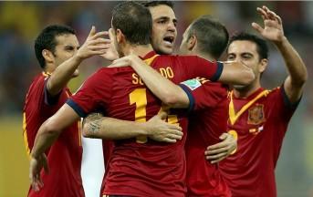 Confederation Cup: Spagna, splendido gol di Villa in allenamento (video)