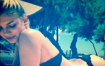 "Emma ""baciata dal sole"" a Formentera ma senza Marco Bocci"