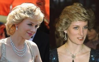 """A """"Supercinema""""  le prime immagini del film su Lady Diana con Naomi Watts"""