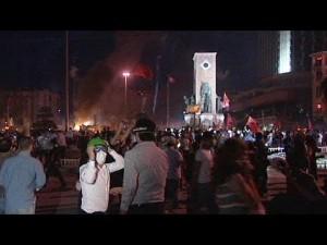 crisi medio oriente manifestazioni a istanbul