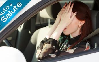 Stress alla guida? Ne soffre il 48% degli automobilisti