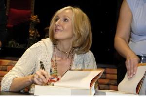 J.K. Rowling Book Signing