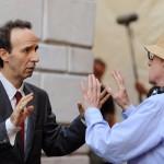 Roberto Benigni e Woody Allen
