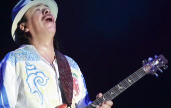Le foto di Carlos Santana in concerto a Milano, venerdì 26 luglio 2013
