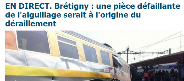 Incidente Ferroviario Bretigny