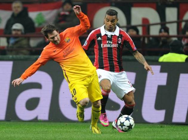 SOCCER: CHAMPIONS LEAGUE; MILAN-BARCELLONA