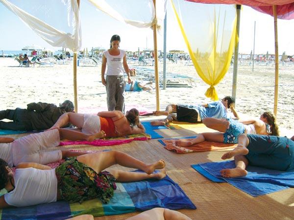 Spiagge del benessere-pilates
