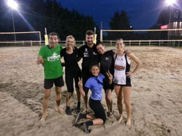 beach volley villa ferri padova