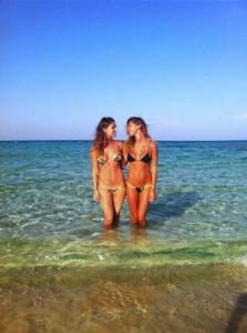 belen e Cecilia Rodriguez sorelle
