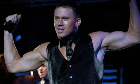 Channing Tatum in a still from Magic Mike