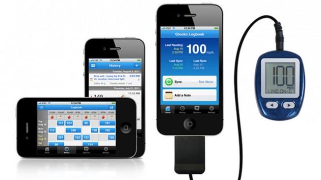 diabete con smartphone