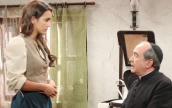 Anticipazioni Il segreto mercoledì 31 luglio: Pepa ricatta Don Anselmo