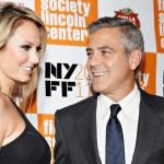 Clooney e Keibler
