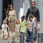 I Brangelina e i loro sei figli