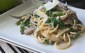 Spaghetti cremosi alle verdure ricetta
