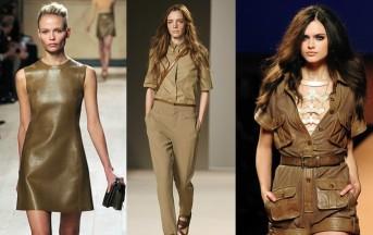 Moda estate 2013: look ispirato alla savana per uno stile grintoso e selvaggio