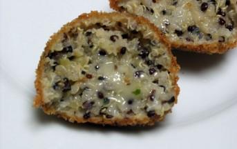 Crocchette di quinoa ricetta