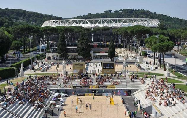 paradise beach volley roma