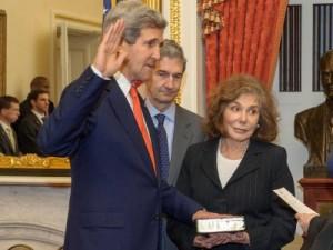 Teresa e John Kerry
