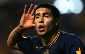 Boca Juniors-Atl. Rafaela: gol di Riquelme su calcio di punizione in area (video)