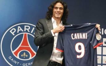 Ligue 1: Cavani segna il suo primo gol in Francia e regala il pareggio al Psg (video)