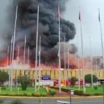 Kenya Nairobi incendio aeroporto
