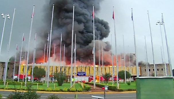 Aeroporto Nairobi : Kenya incendio nell aeroporto di nairobi video urbanpost