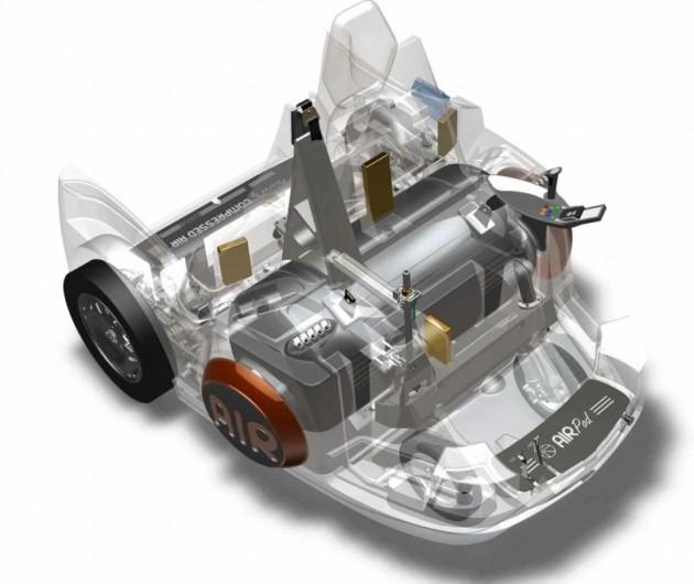 motore ad aria compressa airpod