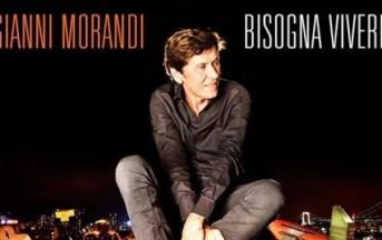 Gianni Morandi, nuovo album: Bisogna vivere