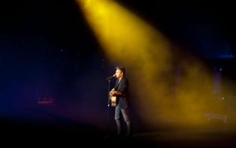 Ligabue, foto inedite pre-concerto Arena di Verona 23 settembre 2013