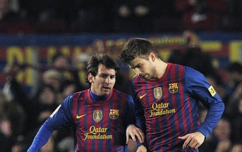 """Barça, Piquè consacra Messi: """"Il migliore della storia"""""""