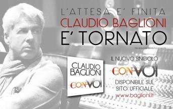 Claudio Baglioni ritorna con un nuovo cd: Con voi album
